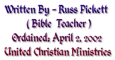 Bible Teacher Russ Pickett
